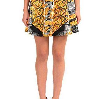 Versace Versus Multi-Color Women's A-Line Skirt US L IT 44