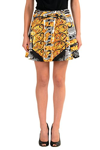 Versace Versus Multi-Color Women's A-Line Skirt US L IT 44