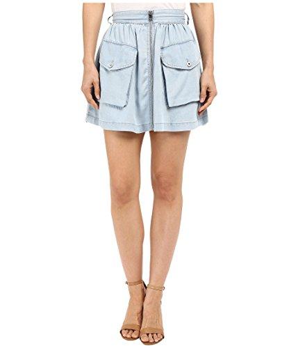Diesel Women's De-Boden-B Skirt Sky Blue Skirt