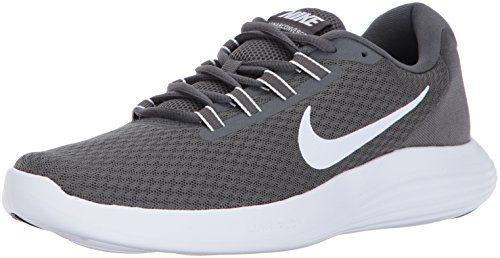 NIKE Men's Lunarconverge Running Shoe, Dark Grey/White/Anthracite/Black, 10.5 D(M) US