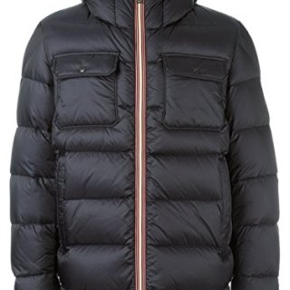 Moncler Men's Morane Black Down Puffer 5