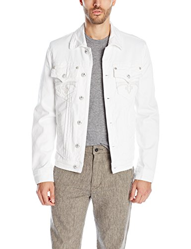 Rock Revival Men's Luciano 8, White, Medium