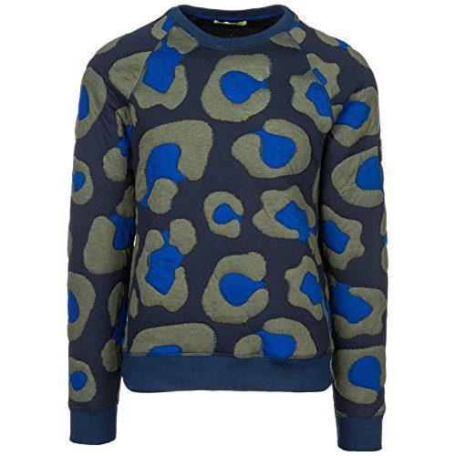 Versace Jeans Men's Sweatshirt Sweat blu US Size M (US M)