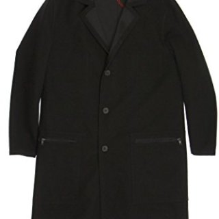 Hugo Boss Hugo by Black Overcoat, Size 40 Regular