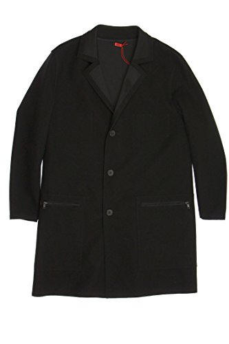 Hugo Boss Hugo by Black Overcoat, Size 40 Regular