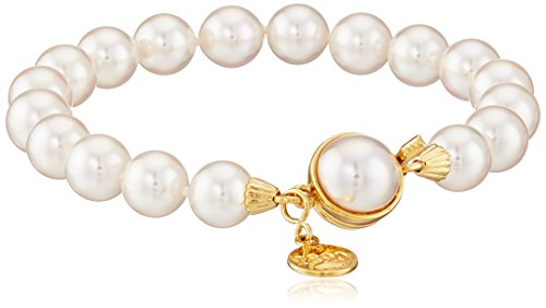 Majorica One-Row White Simulated Pearl 8 mm Bracelet