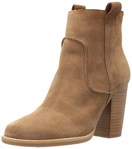 French Connection Women's Avabba Ankle Bootie, Tan, 42 EU/11 M US