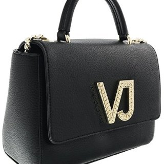Versace Black Top Handle Bag for Womens