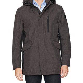 Tumi Men's Softshell Commuter Jacket, Melange, Large