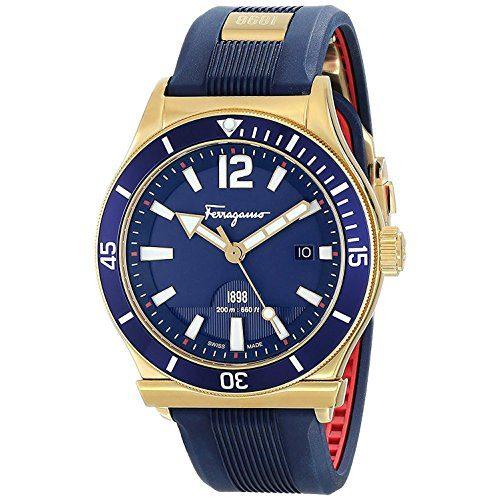 Salvatore Ferragamo Sport Men's Blue Dial Watch