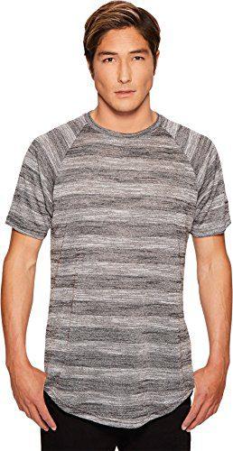 Publish Men's Koner Raglan Knit T-Shirt Black T-Shirt