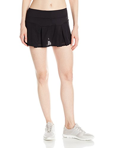 Trina Turk Recreation Women's Set Match Skirt, Black, L