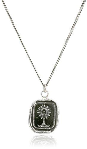 "Pyrrha Unafraid Unisex Talisman Pendant Necklace, 18"""