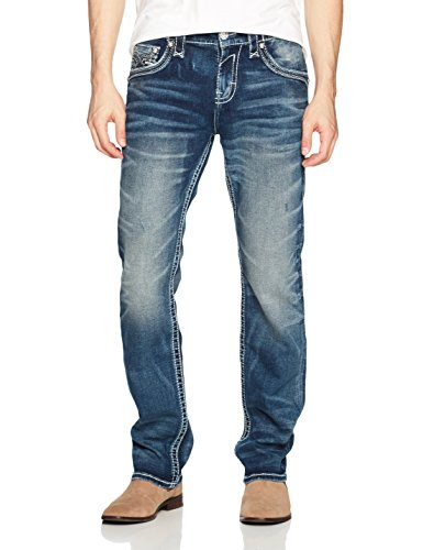 Rock Revival Men's Chester, Blue, 36
