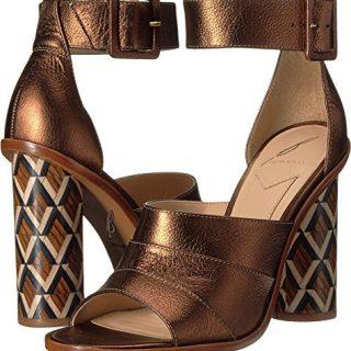 B Brian Atwood Women's Brady Bronze Leather 7 M US