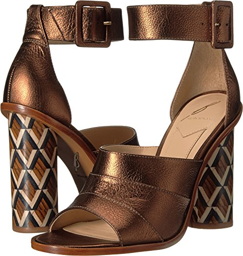 B Brian Atwood Women's Brady Bronze Leather 7 M US