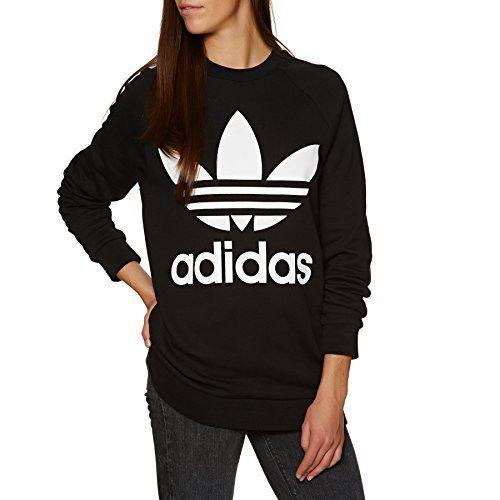 adidas Originals Oversized Pullover Hoody 12 reg Black