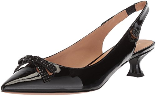 Marc Jacobs Women's Abbey Slingback Pump, Black, 39.5 M EU (9.5 US)