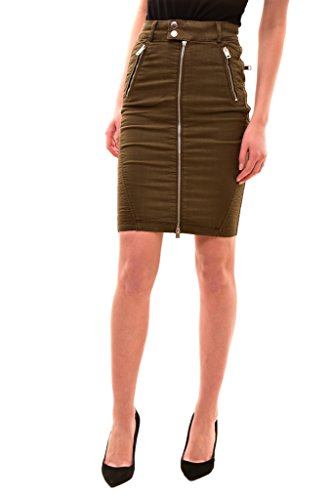 Diesel Women's O-Betta Gonna Skirt Green Size 23