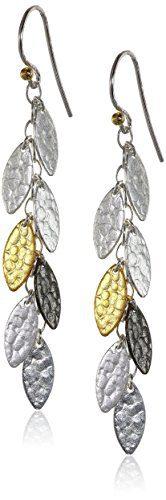 """GURHAN""""Willow Mini"""" Sterling Silver Hook Earrings"""