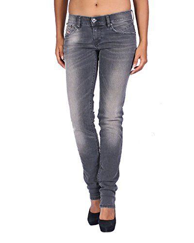 Diesel Women's Jeans Getlegg - Slim Skinny - Gray, W29/L34