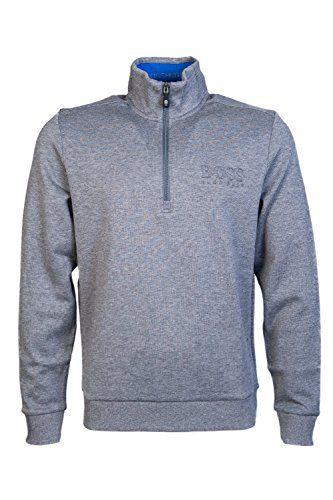 Hugo Boss Mens Round Neck Sweatshirt Sweat Size L Grey