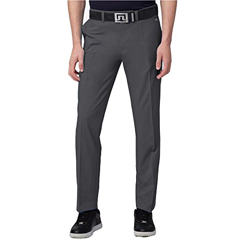 J. Lindeberg Elof Regular Light Poly Pant (Black, 38/32)