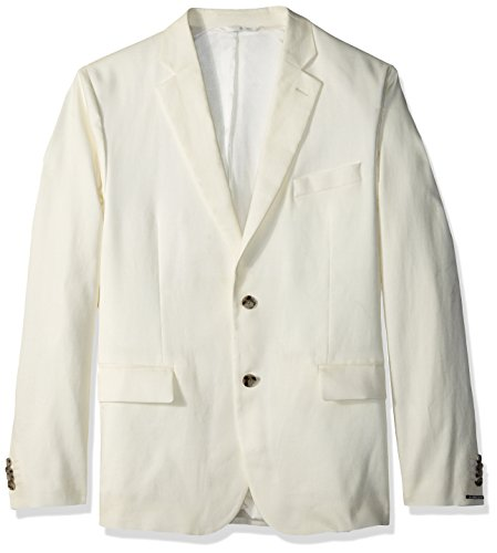 J.Lindeberg Men's Stretch Linen Blazer, Whisper, 50