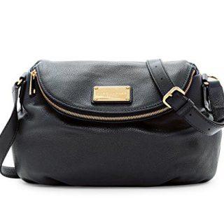 Marc by Marc Jacobs Large Natasha Leather Handbag (Black)