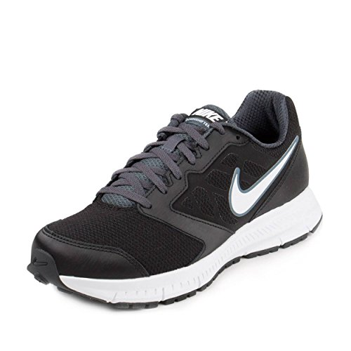 NIKE Downshifter 6 Mens Black Mesh/Synthetic Athletic Running Shoes 8.5