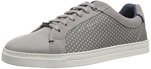 Ted Baker Men's Sarpio Sneaker, Grey, 10 D(M) US
