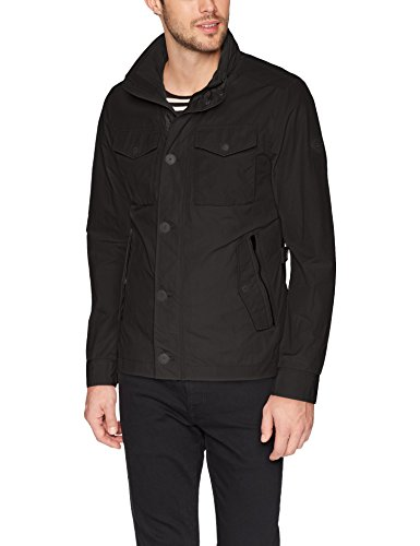 J.Lindeberg Men's Bailey Sports Jacket, Black, Medium