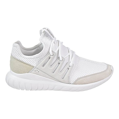 adidas Tubular Radial Men Shoes White/White/LGH Solid Grey s76720 (10 M US)