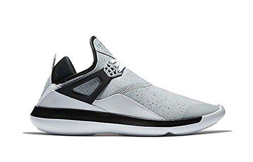 Jordan Men's Fly 89 Fashion Sneakers, Wolf Grey/White/Black (10)