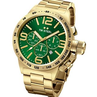 TW Steel Men's CB224 Canteen Green Watch