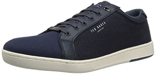 Ted Baker Men's Ternur Sneaker, Dark Blue, 11 D(M) US
