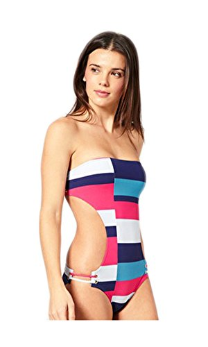 Marc by Marc Jacobs Color Block Monokini One Piece Swimsuit (S)
