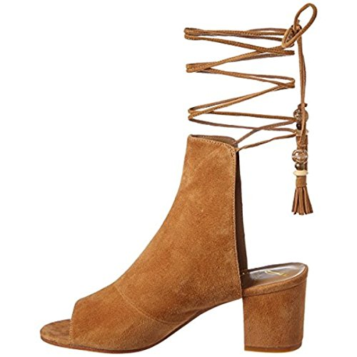 Brian Atwood Womens Bali Ankle Lace-up Dress Sandals Brown 6.5 Medium (B,M)