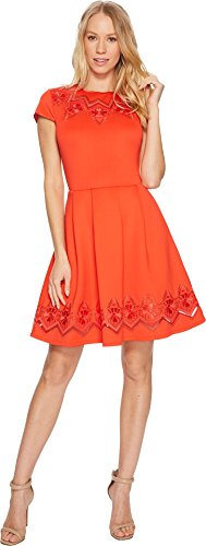 Ted Baker Women's Cheskka, Bright Red, 2