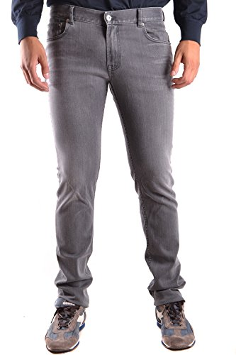 Stone Island Men's Grey Cotton Jeans