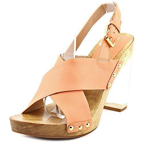 Trina Turk Penney Women US 8 Pink Sandals