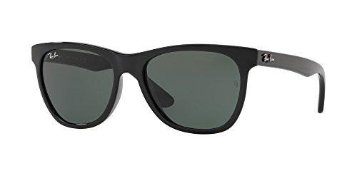Ray-Ban Sunglasses, Black/Green, 54mm