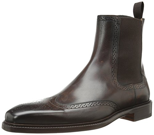 Magnanni Men's Haro Chelsea Boot,Brown,11 M US