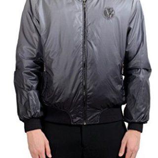 Versace Jeans Men's Reversible Full Zip Bomber Windbreaker US XS IT 46;
