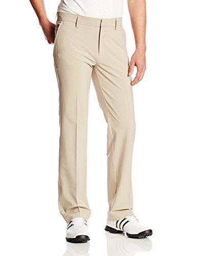 J.Lindeberg Men's M Troon Micro Stretch Golf Pant, Beige, 40x32