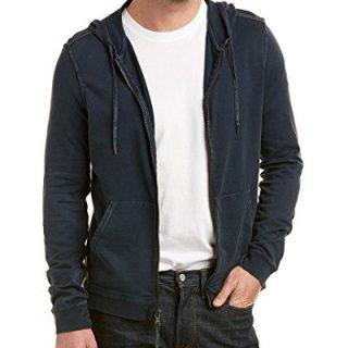 John Varvatos Star U.S.A Mens Hoodie, L, Blue