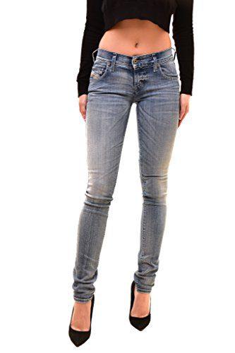Diesel Women's Authentic Grupee L.32 Jeans Blue Size W23 L32