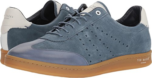 Ted Baker Men's Orlees Light Blue Suede 10 D US