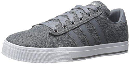 adidas Neo Men's Daily Fashion Sneaker, Grey/Tech Grey/White, 10 M US