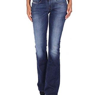 Diesel Women's Jeans LOUVBOOT - Slim Bootcut - Blue, W26/L34
